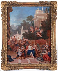 vénus dans son palais by jean cotelle the younger