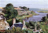 village by the sea by william yorke macgregor