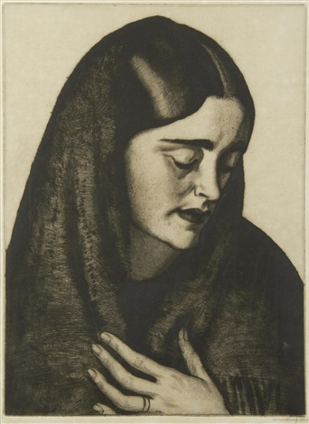 daughter of israel (+ 2 others; 3 works) by dame laura knight