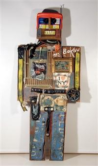 robot by konstantin bokov