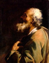 a male saint by giuseppe antonio petrini