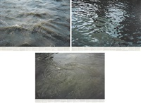 still water (the river thames, for example): image d; i; and o (3 works) by roni horn