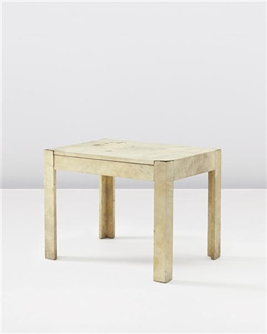 side table with drawer by jean michel frank