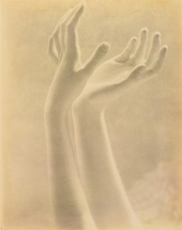 blossom of white fingers (dana steichen's hands) by edward steichen