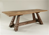 dining table for hannah weil fisher by wharton h. esherick