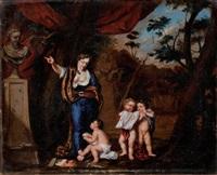allégorie de la peinture by gerard hoet the elder