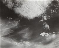 clouds, santa monica by edward weston