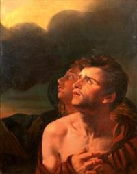 détail de la vierge du sacré coeur by eugène delacroix