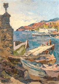 port méditerranéen by maria-mela muter