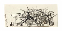 untitled (salut jan) by jean tinguely