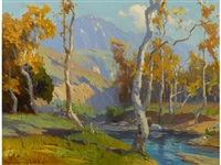 santa anita creek by marion kavanaugh wachtel