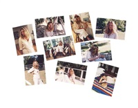 the most beautiful woman in the world (set of 9) by charles ray