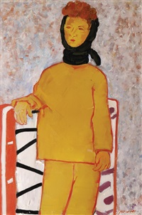 woman from jerusalem by pinchas litvinovsky
