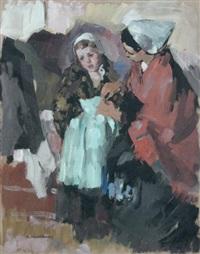 deux bretonnes by andré mériel-bussy