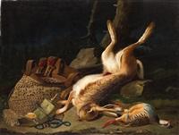 bodegón de caza by josé felipe parra