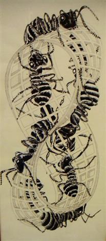 les fourmis by m c escher