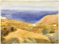 view of sifnos by panayiotis tetsis