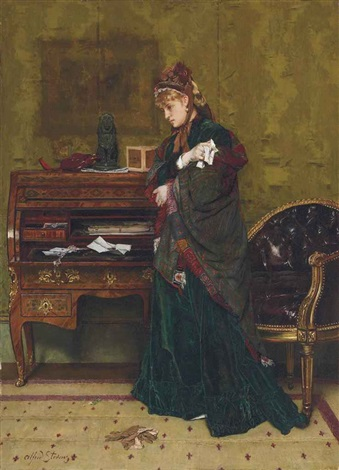 the letter by alfred stevens