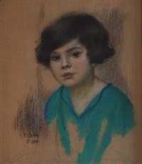 boy´s portrait by karel spillar