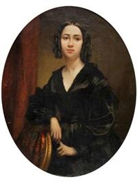 portrait de femme by eugène appert