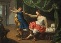 giuseppe e la moglie di putifarre by bernardino nocchi