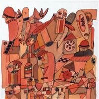 alos conferencistas i y ii (2 works) by elisa antokolec