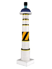 rare totem by ettore sottsass