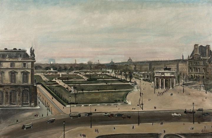 Vue du jardin des Tuileries von Lucien Adrion auf artnet