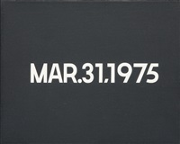 mar. 31 by on kawara