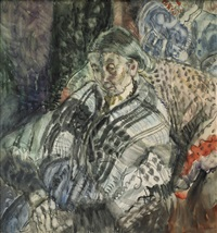 breton peasant by frances mary hodgkins