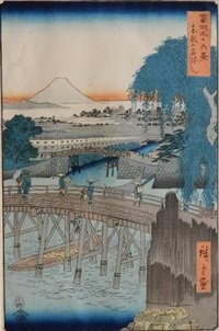 ichikoku-bashi by ando hiroshige