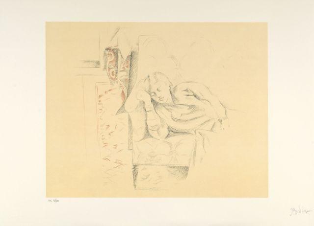 dessins portfolio of 6 by balthus