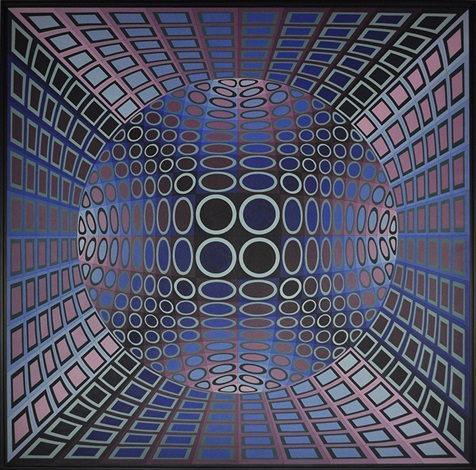 niels b by victor vasarely