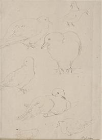 studio per colombe by scipione (gino bonichi)