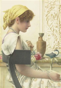 pearls by henry ryland