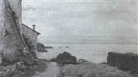 au bord du lac by william-victor aubert