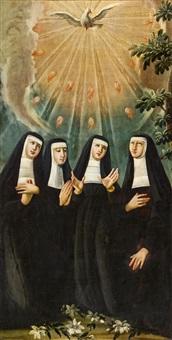 ausgießung des heiligen geistes auf vier ursulinen by anonymous (18)