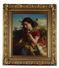 the young shepherdess by robert herdman