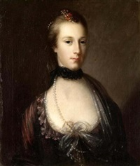 portrait of a lady by john astley