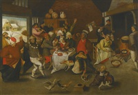 twelfth night by pieter brueghel the younger