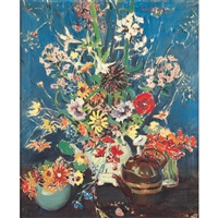 floral still life by ruth a. (temple) anderson