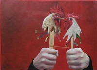 rooster rattles by case