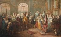 le mariage de louis de france, duc de bourgogne et de marie-adélaïde de savoie, le 7 décembre 1697 by antoine dieu