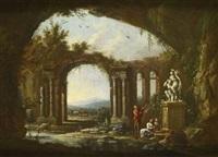 la prédication devant la statue by jean baptiste charles claudot