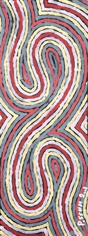 walk away worm dreaming by clifford possum tjapaltjarri