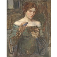 the love philtre by john william waterhouse