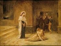 la mujer adúltera by frederick goodall
