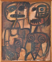 two figures by john anthony (tony) tuckson