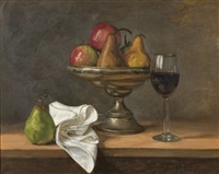 pears & wine by tom alberts