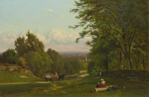 near leeds new york by george inness